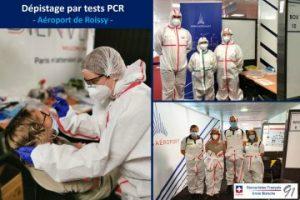 Dépistage par test PCR