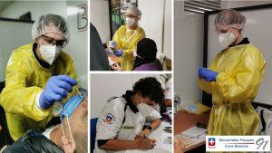 Test PCR à Roissy