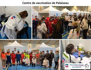 Centre de vaccination de Palaiseau